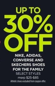 Nike, Adidas, Converse, and Skechers Shoes
