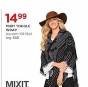 Mixit Toggle Wrap