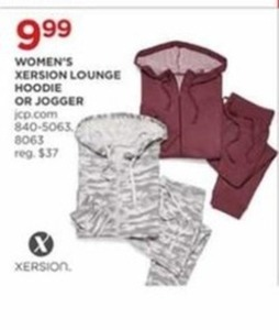 Women's Xersion Lounge Hoodie or Jogger
