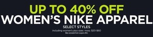 Women's Nike Apparel