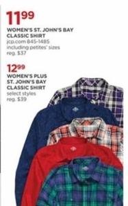 Women's St. John's Bay Classic Shirt