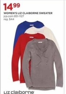 Women's Liz Claiborne Sweater