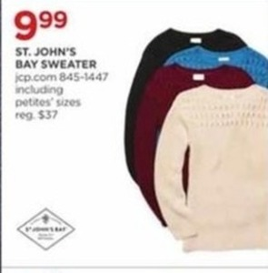 St. John's Bay Sweater