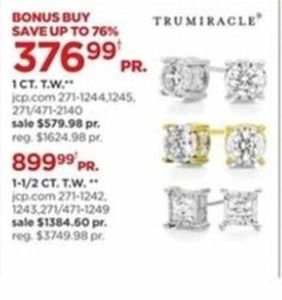 Trumiracle Diamond Earrings