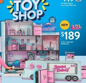 Lol Surprise Dollhouse 189 0 At Walmart Toyland On Black Friday