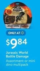 Jurassic World Battle Damage Assortment