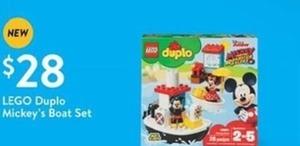 Lego Duplo Mickey's Boat Set