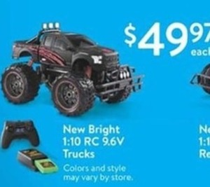 New Bright 10 Rc 9.6 V Trucks