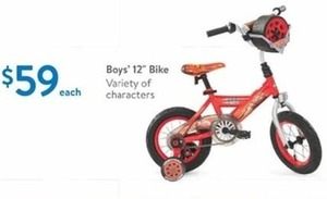 "Variety of Character Boys 12"" Bikes"