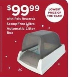 Scoop Free Ultra Automatic Litter Box w/ Pals Rewards