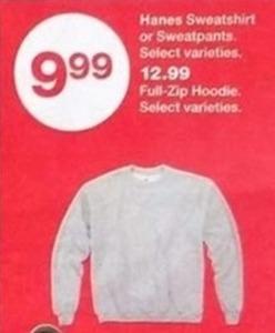 Hanes Sweatshirt or Sweatpants