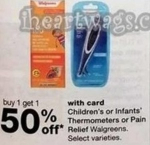 Children's or Infants' Thermometers or Pain Relief Walgreens,