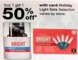 Holiday Light Sets w/Card