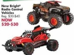 New Bright Radio Control Vehicles