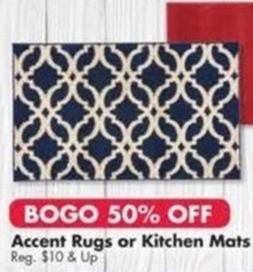 Accent Rugs or Kitchen Mats