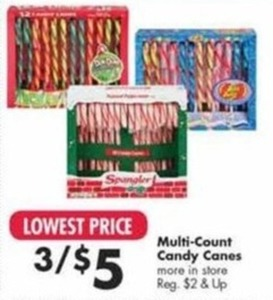 Multi Count Candy Canes