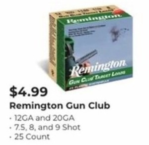 Remington Gun Club 29 Count