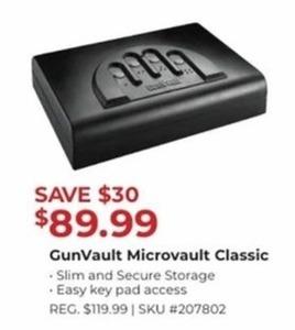 Gun Vault Microvault Classic