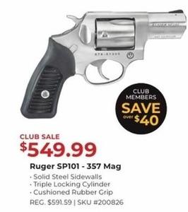 Ruger SP101 - 357 Mag
