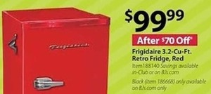 Frigidaire 3.2 Cu. Ft. Retro Fridge