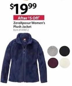 ZeroXposur Women's Plush Jacke