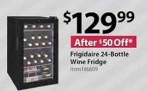 Frigidaire 24-Bottle Wine Fridge