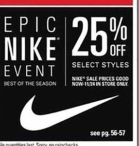 Nike Select Styles