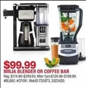 Ninja Blender or Coffee Bar