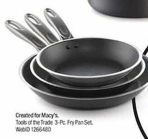 Tools Of The Trade 3 Pc. Fry Pan Set - After Rebate