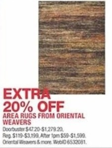 Area Rugs from Oriental Weavers