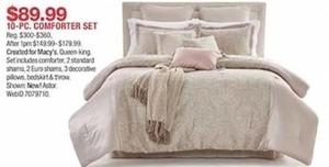10-Pc. Comforter Set