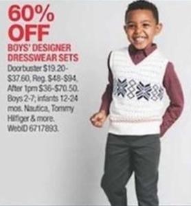 Boys' Designer Dresswear Sets