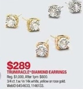 Trumiracle Diamodn Earrings
