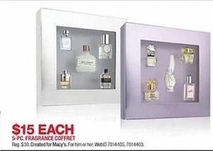 5 Pc. Fragrance Coffret Rieg