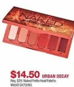 Urban Decay Naked Pette Heat Palette