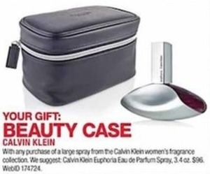Beauty Case with Calvin Klein Fragrance Purchase