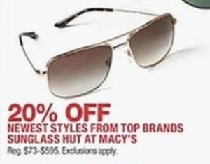 Newest Sunglasses Styles from Top Brands