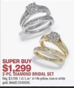 2 Pc. Diamond Bridal Set