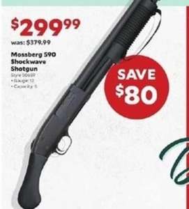 Mossberg 590 Shockwave Shotgun