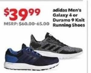 Adidas Men's Galaxy 4 Or Duramo 9 Knit Running Shoes