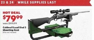 Caldwell Lead Sled 3 Shooting Rest