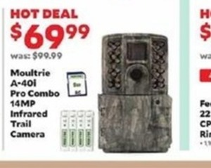 Moultrie A-40l Pro Combo 14 MP Infrared Trail Camera