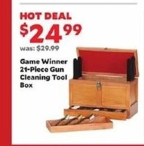 Game Winner 21 Piece Gun Cleaning Tool Box