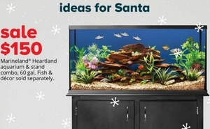 Marineland Heartland Aquarium and Stand Combo