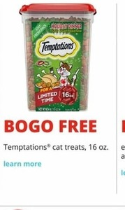 Temptations Cat Treats 16 Oz. Pack