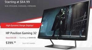 HP Pavilion Gaming 32
