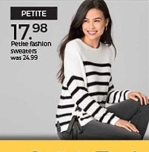 Petite Fashion Sweaters