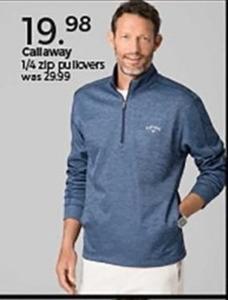 Callaway 1/4 Zip Pullovers