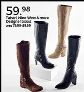 Tahari, Nine West and More Designer Boots