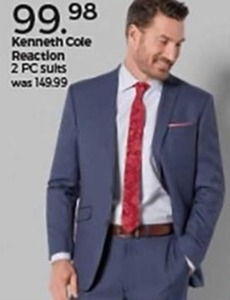 Kenneth Cole Reaction 2 pc. Suits